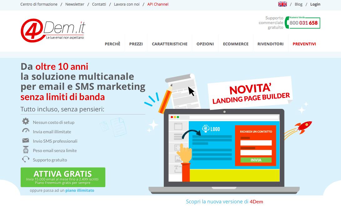 emailmarketing 4Dem.it