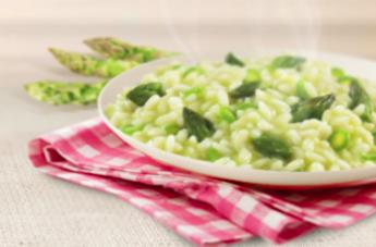 asparagi risotto